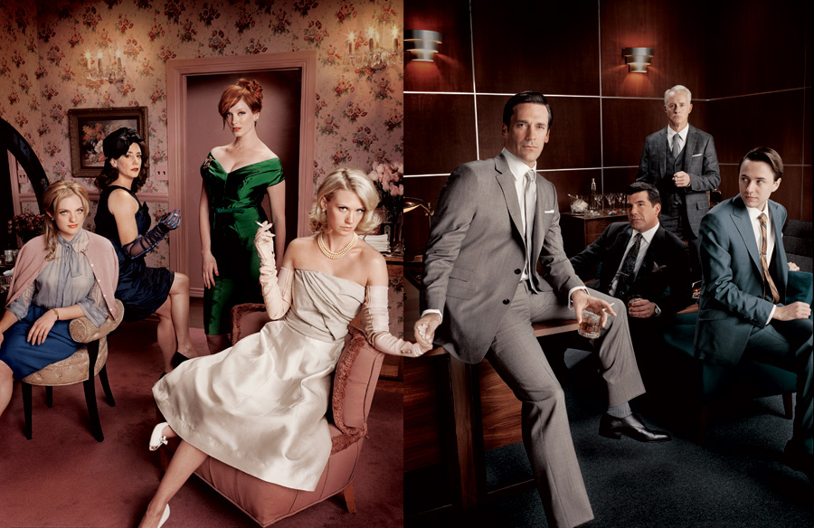 Things American How Mad Men Amp Upstairs Downstairs