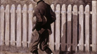 Norman_Rockwell_-_The_Magic_Foot-ball,_'Tommy_appeared_at_an_upstairs_window.'_(Boy_with_Mumps)_-_Google_Art_Project