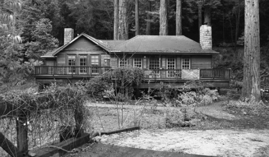 Ken Kesey's former home in La Honda, CA where he hosted the infamous party with the Hell's Angels, Hunter S. Thompson, Allen Ginsburg, and others.
