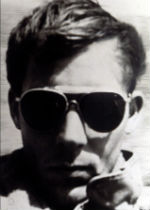 Hunter S. Thompson's early author photo