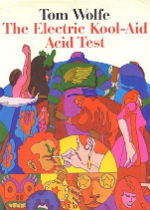 "First edition jacket image of Tom Wolfe's ""The Electric Kool-Aid Acid Test."""