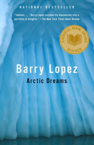 "Book jacket of Barry Lopez's ""Arctic Dreams"""