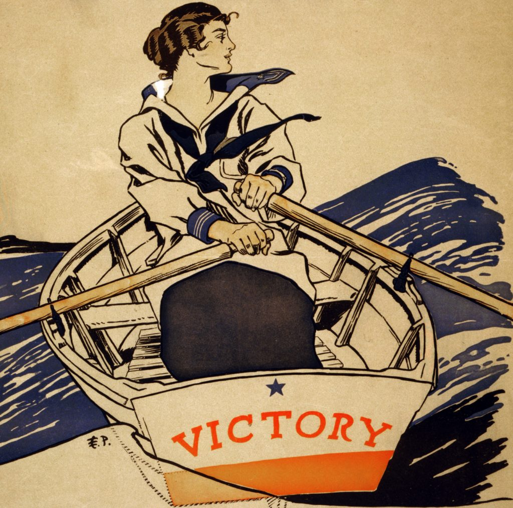 every_girl_pulling_for_victory_wwi_poster_1918